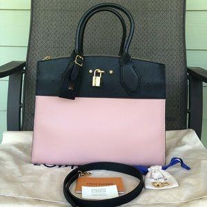 Authentic Louis Vuitton City Steamer MM Bag